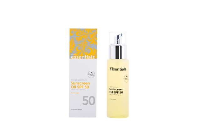 Broad Spectrum Sunscreen Oil_ SPF 50_ 120 ml_ AED 145
